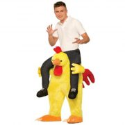 Adult Piggyback Chicken Fight Costume