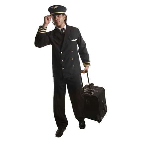 Adult Pilot Jacket Costume