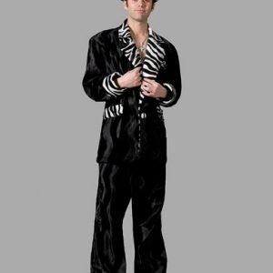 Adult Pimp Suit Black