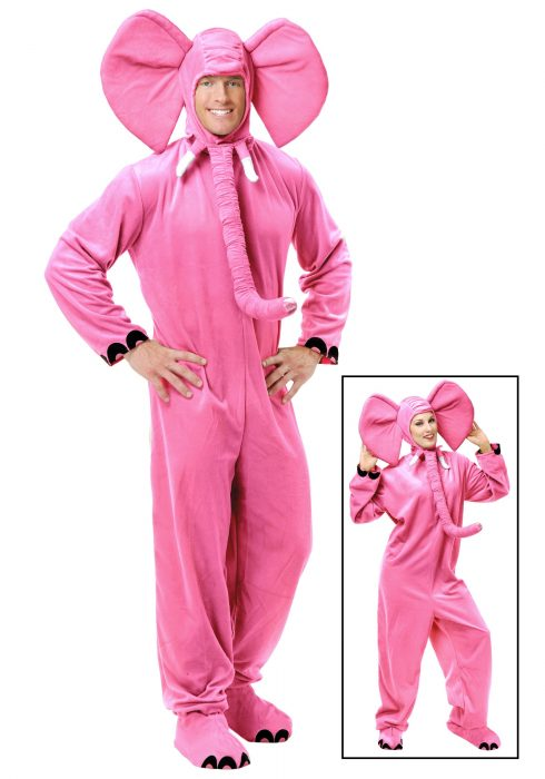 Adult Pink Elephant Costume