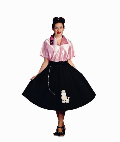 Adult Pink Lady Poodle Skirt Costume