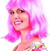 Adult Pink Peggy Sue Wig