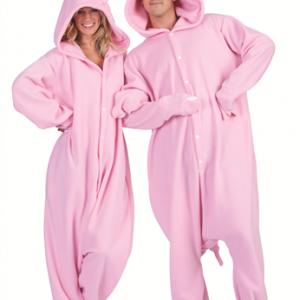 Adult Pink Pig Funsies Costume