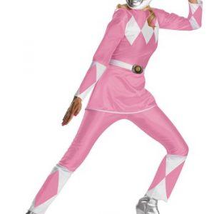 Adult Pink Power Ranger Costume