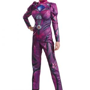Adult Pink Power Ranger Deluxe Movie Costume