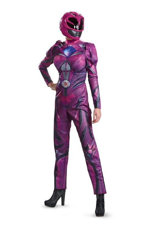 Adult Pink Power Ranger Deluxe Movie Costume