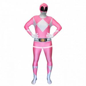 Adult Pink Power Rangers Morphsuit