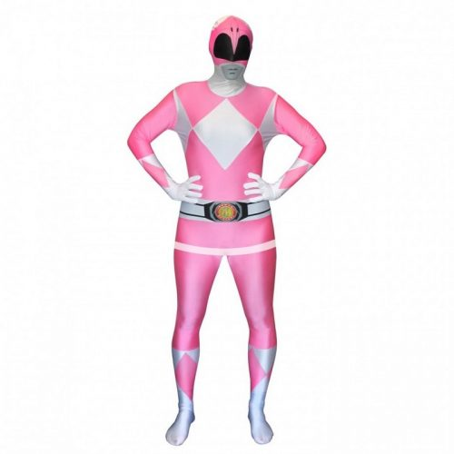 Adult Pink Power Rangers Morphsuit