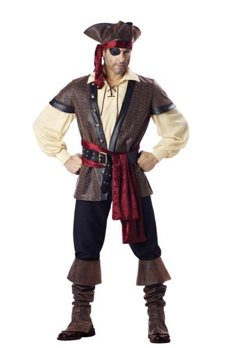 Adult Pirate Costume - Rustic Pirate