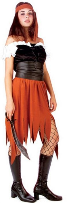 Adult Pirate Woman Costume