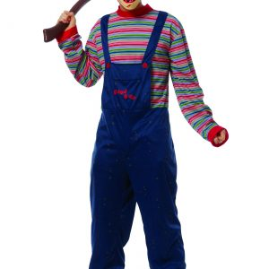 Adult Plus Size Evil Chucky Costume