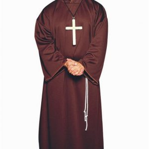 Adult Plus Size Monk Costume