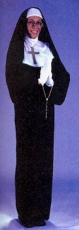 Adult Plus Size Mother Superior Costume