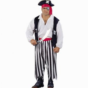 Adult Plus Size Pirate of the Caribbean Costume