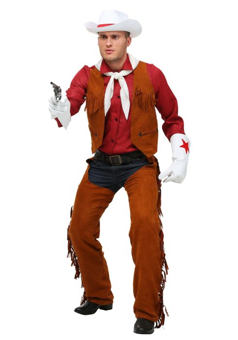 Adult Plus Size Rodeo Cowboy Costume