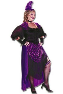 Adult Plus Size Sexy Western Costume