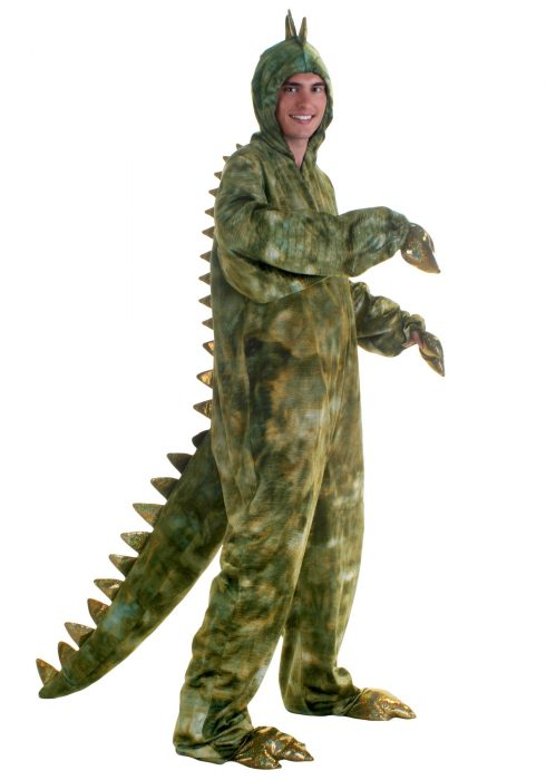Adult Plus Size T-Rex Dinosaur Costume