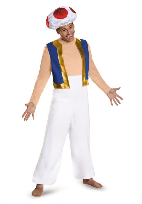 Adult Plus Size Toad Deluxe Costume