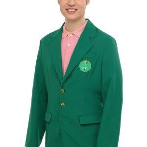 Adult Plus Sized Golf Green Champion Jacket
