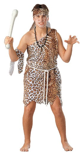 Adult Plush Caveman Costume