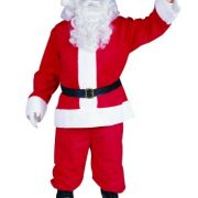Adult Plush Santa Claus Suit