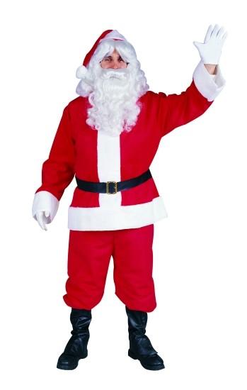 Adult Plush Santa Claus Suit
