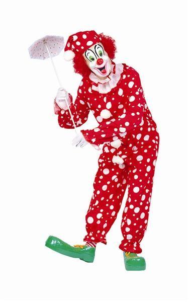 Adult Polka Dots Clown Costume