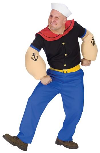 Adult Popeye Halloween Costume