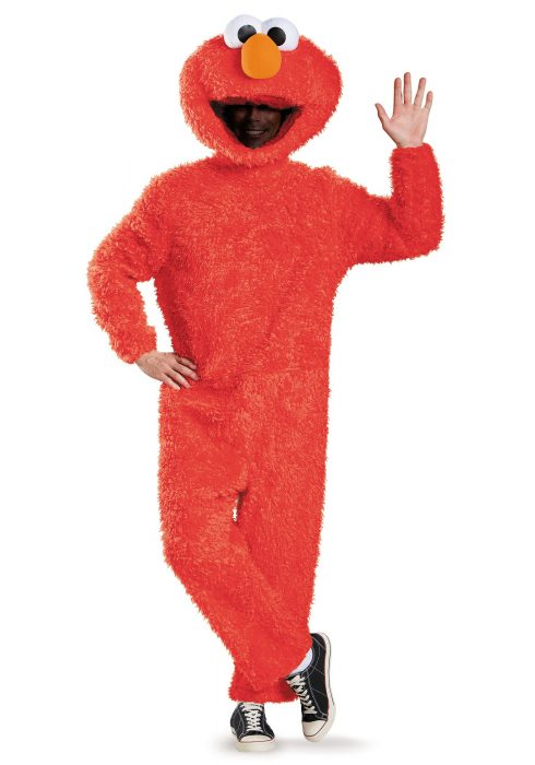 Adult Prestige Plus Size Elmo Costume