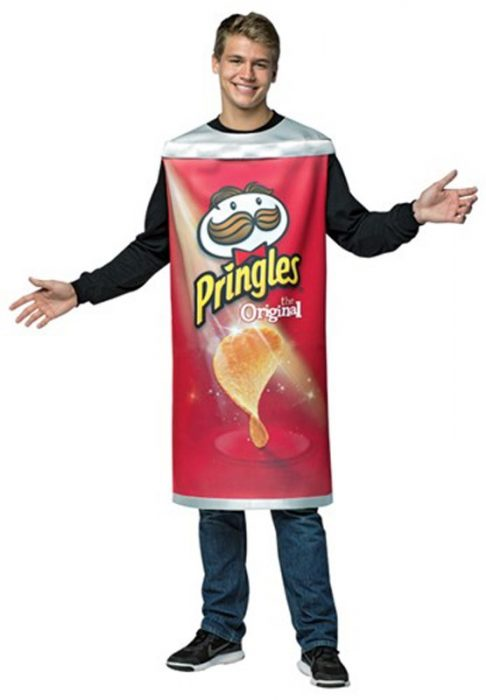 Adult Pringles Can Costume