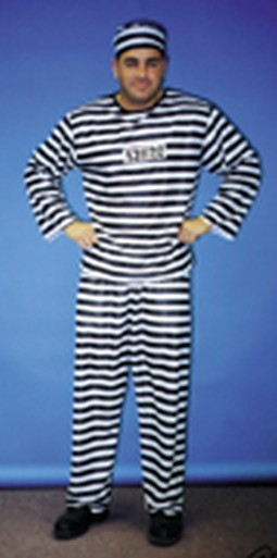 Adult Prison Convict Costume