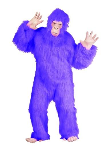Adult Purple Gorilla Costume