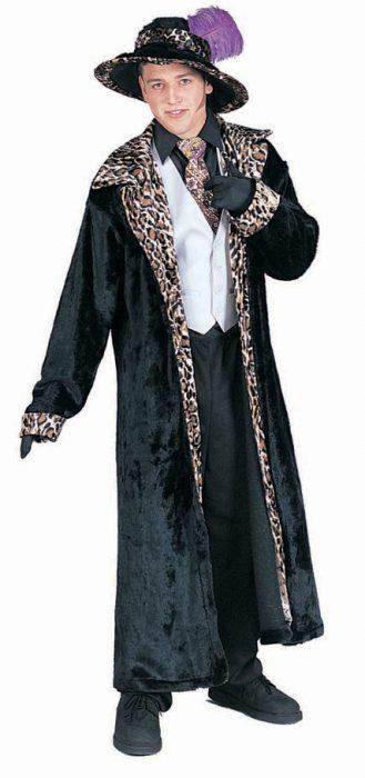 Adult Purple Pimp Coat Costume