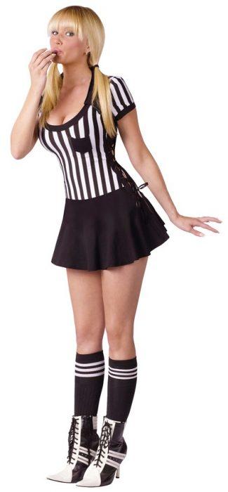 Adult Racy Referee Costume