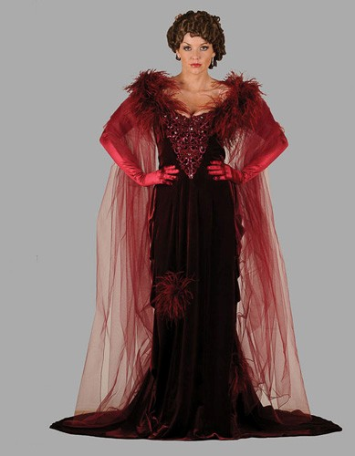 Adult Red Dress Costume
