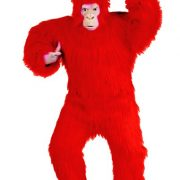 Adult Red Gorilla Costume