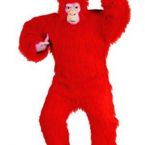 Adult Red Gorilla Costume
