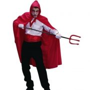 Adult Red Hooded Cape