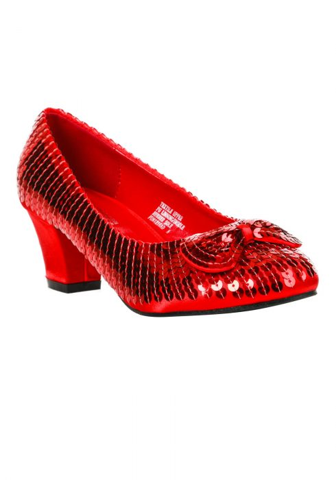 Adult Red Sequin Shoes