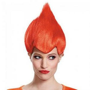 Adult Red Troll Wig