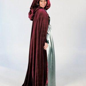 Adult Renaissance Cloak - Green