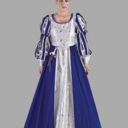 Adult Renaissance Lady Costume ? Blue