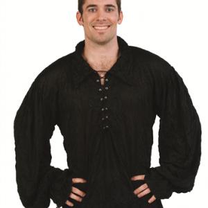 Adult Renaissance Shirt - Black