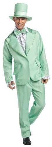 Adult Retro Green Tuxedo Costume