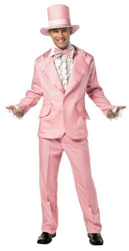 Adult Retro Pink Tuxedo Costume