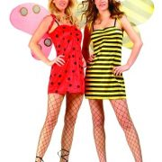 Adult Reversible Ladybug & Bee Costume