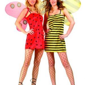 Adult Reversible Ladybug & Bee Costume