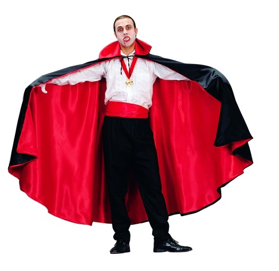 Adult Reversible Satin Cape