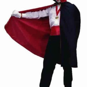 Adult Reversible Taffeta Cape