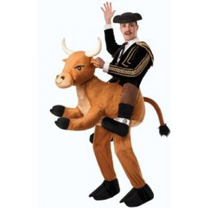 Adult Ride A Bull Piggyback Costume